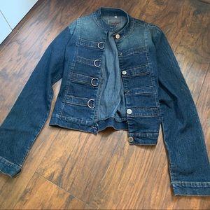 Jackets & Blazers - Super Cute Unique Jean Jacket